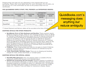 QuickBooks Shipping Costs